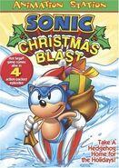 Sonic Christmas Blast DVD Sterling