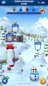 Sonic Dash Snow Mountain Zone ruined