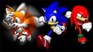 Sonic R Sonic, Tails and Knuckles