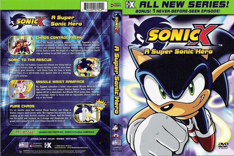 Sonic X A Super Sonic Hero  Sonic News Network  FANDOM powered