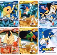Sonic X tcg Common 016-020