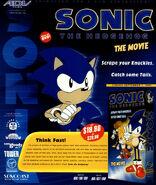 Sonic the Movie US magazine ad