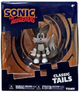 Tomy Collector Series grayscale Classic Tails figure