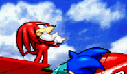 Advance Knuckles ending 3