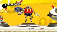 EggRobo statue
