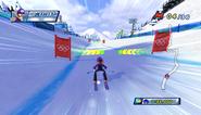 Mario Sonic Olympic Winter Games Gameplay 127