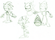 Metal Sonic CD concepts