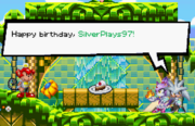 Silverplays97's birthday