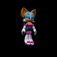 SonicAdventure2Battle RougeModel