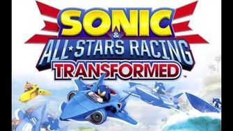 Sonic & All-Stars Racing Transformed Music Sanctuary Falls - Sky Sanctuary Back In Time Remix