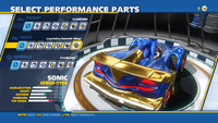 Sonic Legendary Dynamic Wings Rear