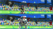 Mario & Sonic at the Rio 2016 Olympic Games - Shadow VS Dry Bowser Javelin Throw