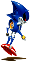 Metal Sonic CD art 1