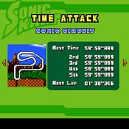 Sonic Kart 3DX 4