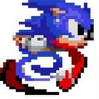 Sprite de Sonic corriendo (Sonic 2 Beta)