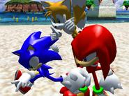 Egg Hawk Sonic victory