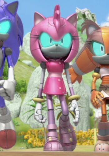Cyborg Amy Sonic News Network Fandom Powered By Wikia