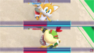 Mario & Sonic at the Rio 2016 Olympic Games - Tails VS Bowser Jr. Gymnastics