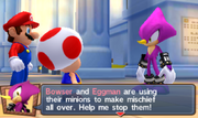Mario Sonic London 3DS Story Mode 447
