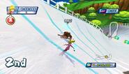 Mario Sonic Olympic Winter Games Gameplay 167
