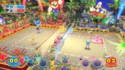 Mario Sonic Rio Wii U Gameplay 1193