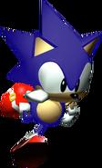 R Sonic model running