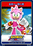 Sonic Free Riders karta 6