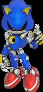 Channel 3D Metal Sonic