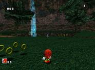 SA Knuckles vs Sonic DC 1