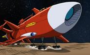 Chaotix Spaceship
