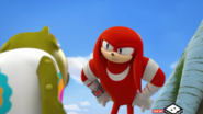 Knuckles talking to Og