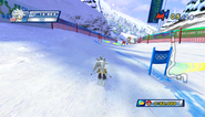 Mario Sonic Olympic Winter Games Gameplay 132