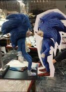 MastersFX Sonic stand-in reflection
