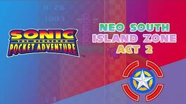 Neo South Island Zone Act 2 - Sonic Pocket Adventure