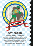 Sgt.SimianProfile