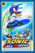 Sonic Free Riders Card