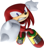 Sonic Rivals 2 - Knuckles