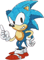 91 Sonic Manual Art
