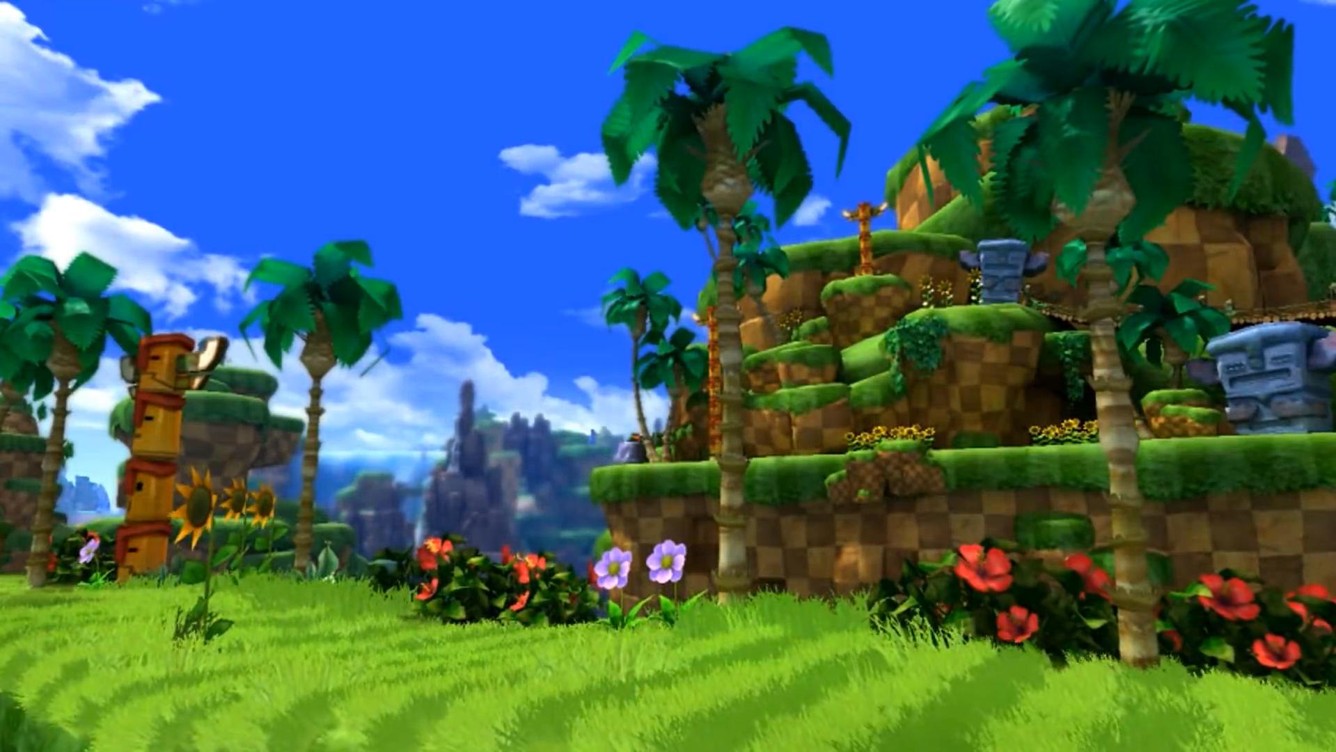 Green Hill Zone Classic Sonic S World Sonic News Network Fandom