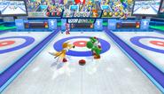 Mario Sonic Olympic Winter Games Gameplay 119