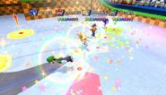 Mario Sonic Olympic Winter Games Gameplay 350
