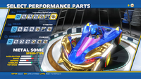 Metal Sonic Legendary Digital Interface Front