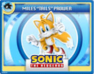 "Miles ""Tails"" Prower Online Card"