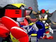 Omega Shadow i Metal Sonic