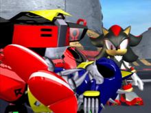 Omega Shadow i Metal Sonic