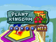 Plant Kingdom Act 2 Sonic title card