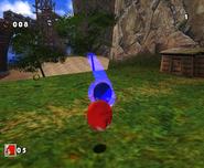 SA Knuckles vs Sonic DX 4