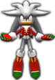 Sonic Rivals 2 - Silver the Hedgehog costume 2