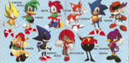 Sonic the Fighters cast