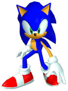 Sonicheroes sonic early